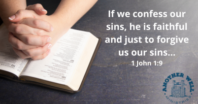 If we confess, He will forgive
