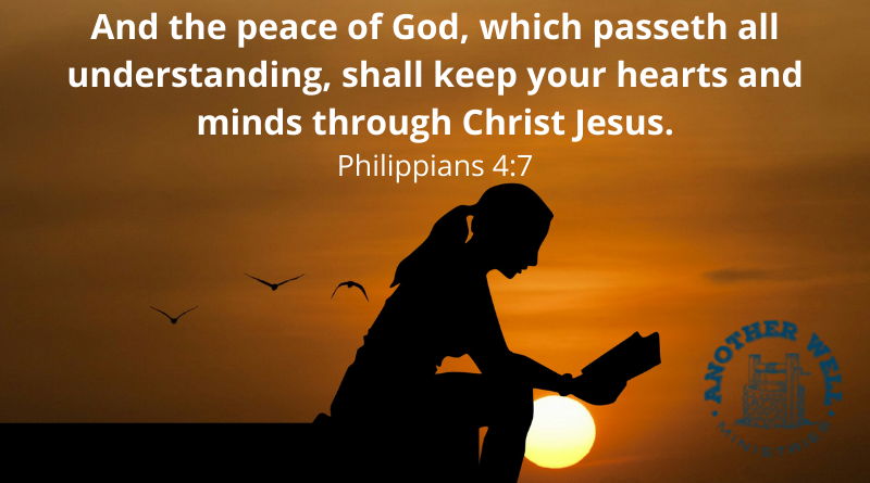 The peace of God will keep you