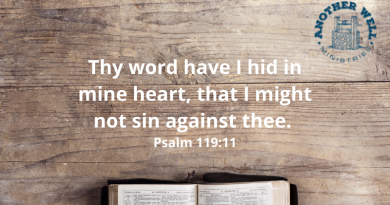 We need to have God's word in our heart