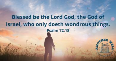 Praise God who does wonderful things!