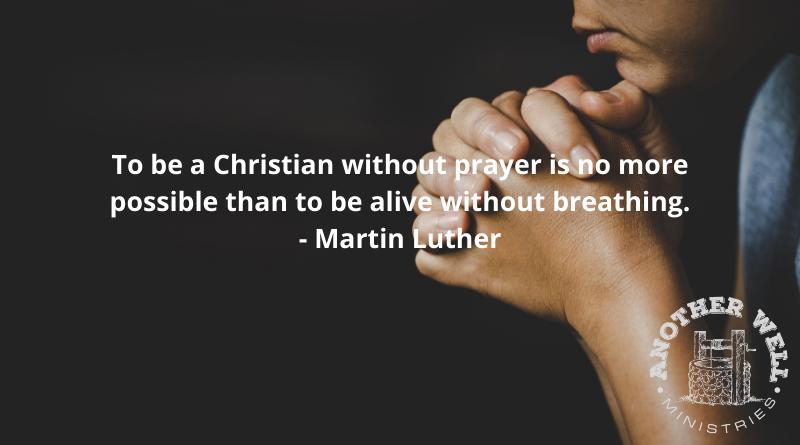 Real life comes through prayer