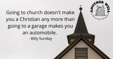 It's more than just going to church