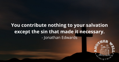 Your contribution to salvation
