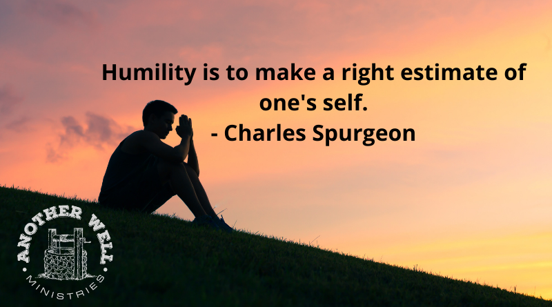 Live life with humility